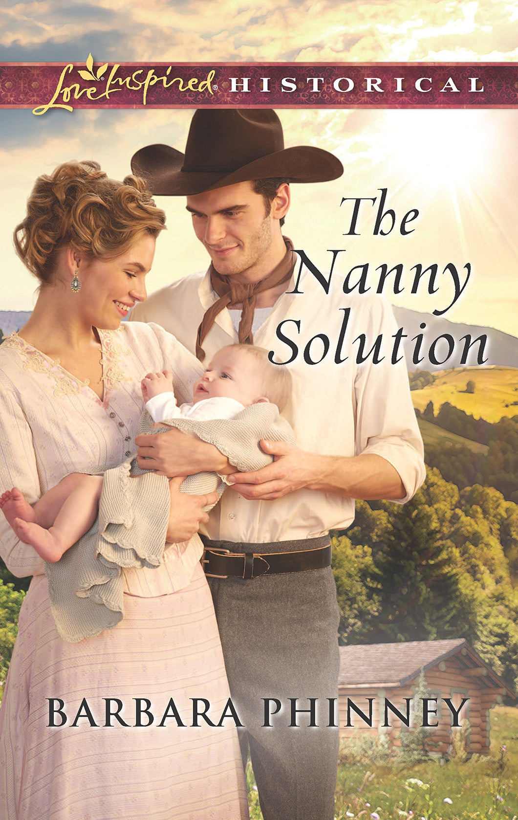 The Nanny Solution (Love Inspired Historical)