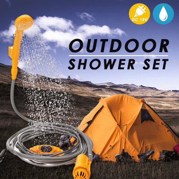 Portable Outdoor Shower Set