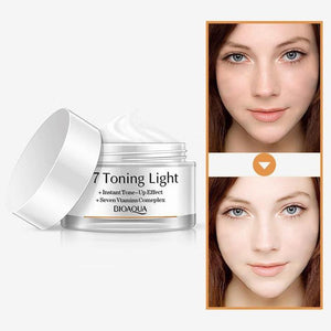 Bioaqua V7 Toning Light Whitening Cream