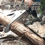 Powerful 11.5 Inch Chainsaw Kit