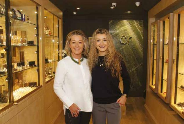 Tracy and Jade Sammon of Ór Jewellers, Williams Gate Street. Photo:-Mike Shaughnessy