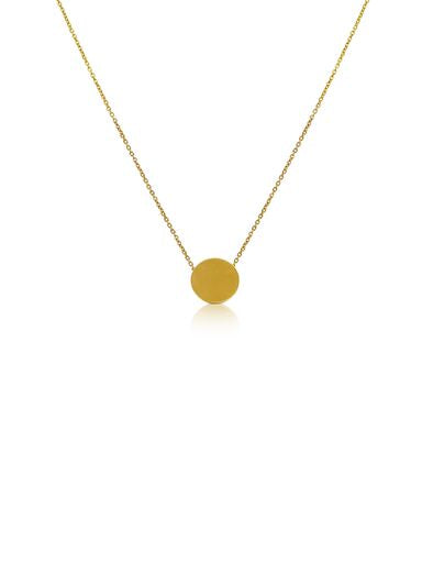 Ór Collection 9ct Gold Single Disc