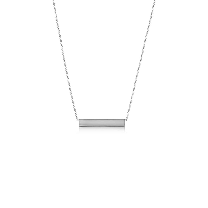 Ór Collection Sterling Silver Bar Necklace