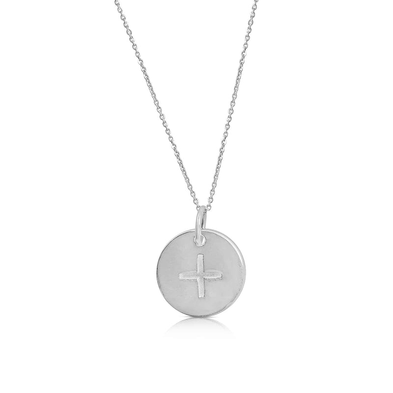 sterling silver ogham necklace letter A
