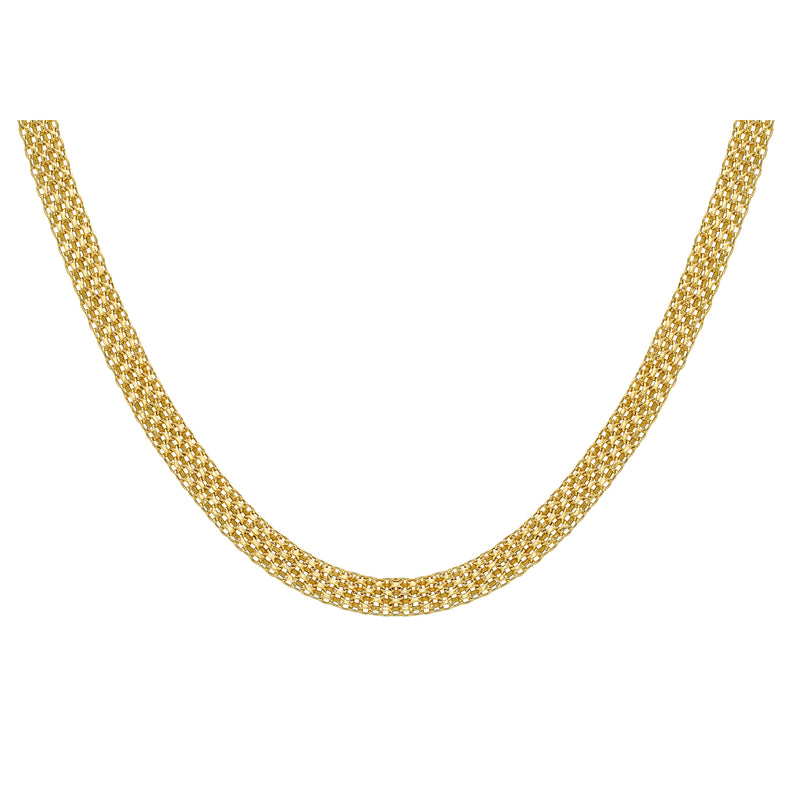 Ór Collection 9Ct Yellow Gold Bismark Necklace