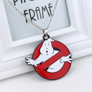 Ghostbusters No Ghost Logo Necklace