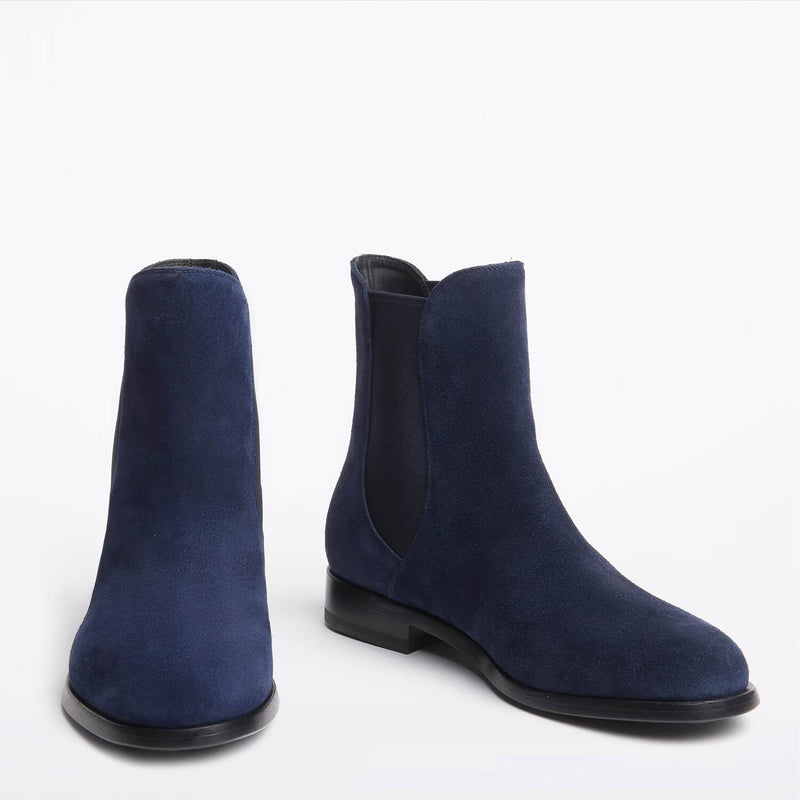 Nora Chelsea boot blue
