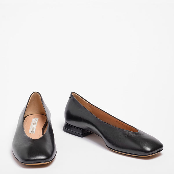 Kaia Ballet Flat Nappa Leather Black