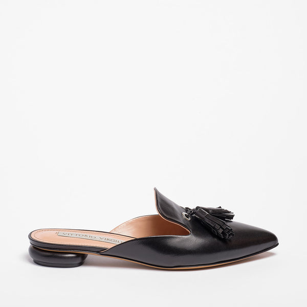 Liv Mule Nappa Leather Black
