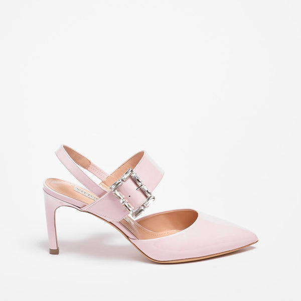 Sarah Slingback  Patent Leather pink