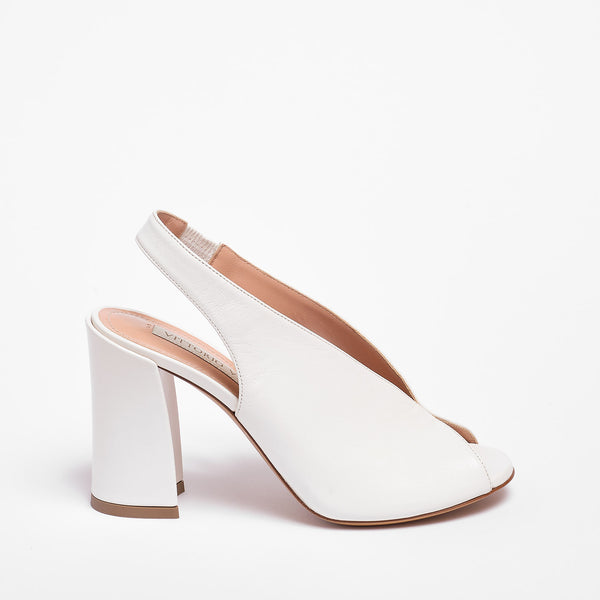 Julien Sandal Nappa Leather White