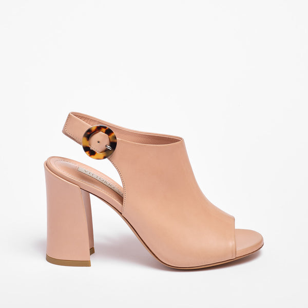 Gilda Sandal Calfskin Natural Leather Colour
