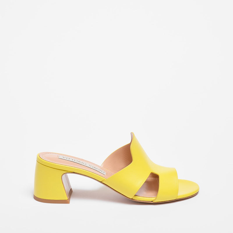 Linda Slipper Nappa Leather yellow