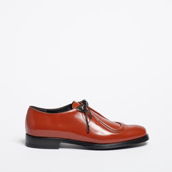 Monique moccasin carmine red