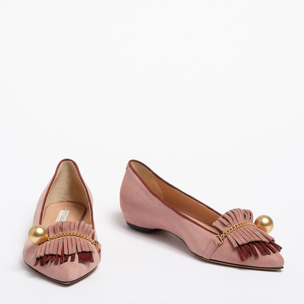 Margherita Ballet flat antique pink
