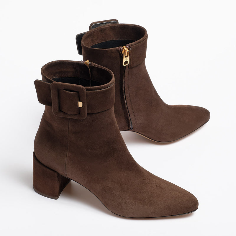 Niha Ankle boot dark brown