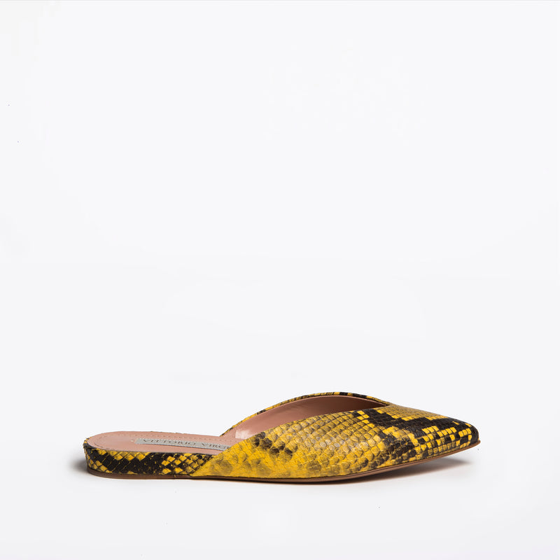 Larisa Slip-on yellow-black