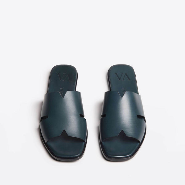 Laura slip-on blu vintage