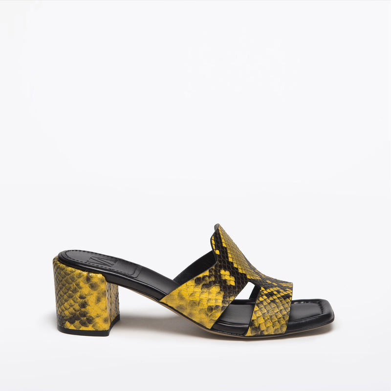 Sylvia slip-on giallo nero
