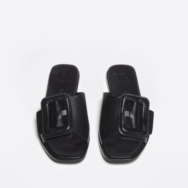 Rose Slip-on black