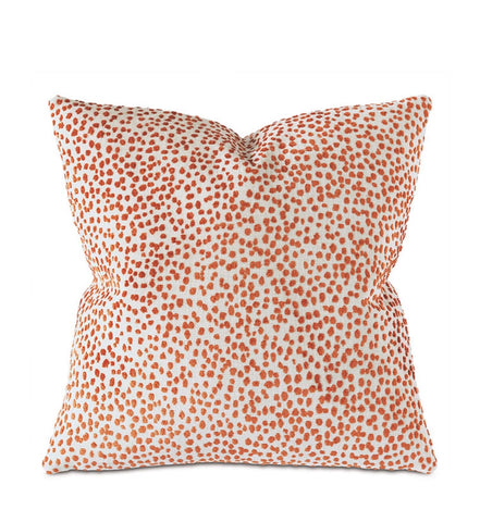 Decorative Pillow- Tapir in Orange