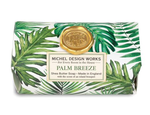 Palm Breeze Large Bath Soap