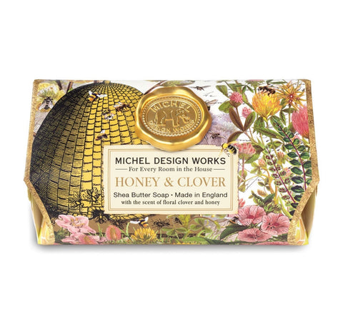 Honey & Clover Large Bath Soap Bar