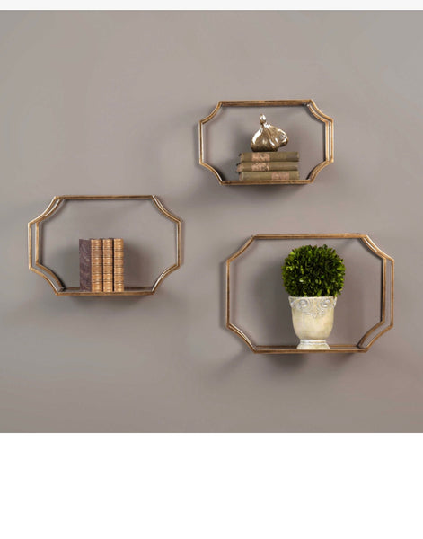 Wall Shelves- Set of Three