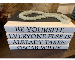 Decorative Quote Books- Oscar Wilde