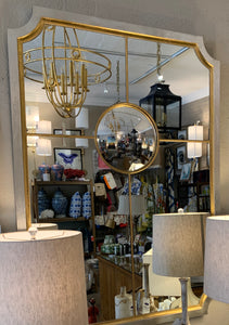 Silver/Gold Sectional Wall Mirror