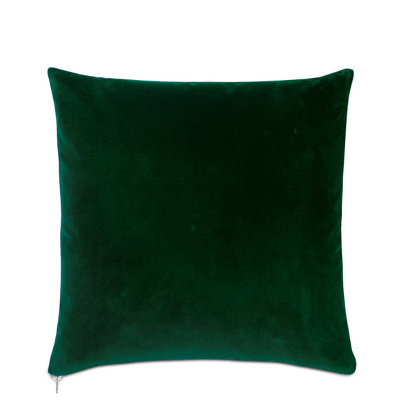 Decorative Pillow- Velvet Green