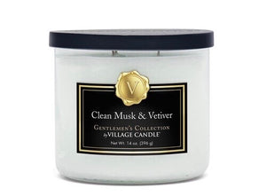 Clean Musk & Vetiver Candle
