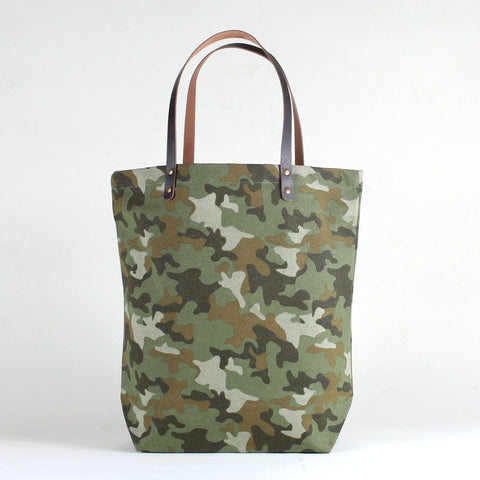 City Shopper Tote- Camo
