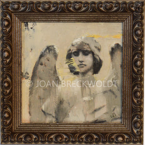 COURAGE angel painting