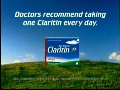 Claritin Allergy Antihistamine Loratadine 10mg - 1 Tablet