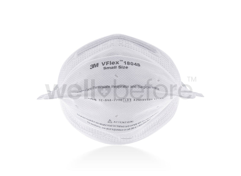 3M™ 1804 VFlex N95 Respirator Surgical Masks - FDA Cleared NIOSH Approved