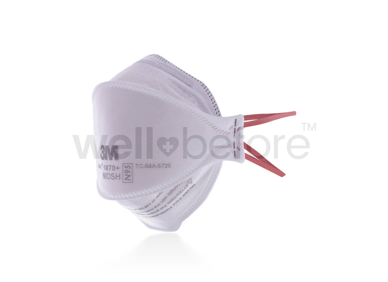 3M™ 1870+ Aura N95 Surgical Mask - FDA Cleared NIOSH Approved