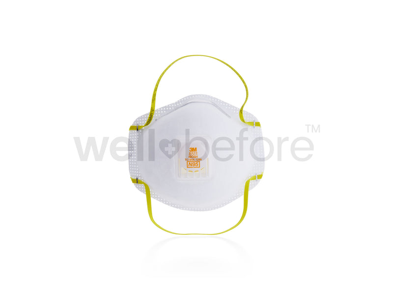 3M™ 8511 Pro Particulate Respirator N95 Mask – NIOSH Approved