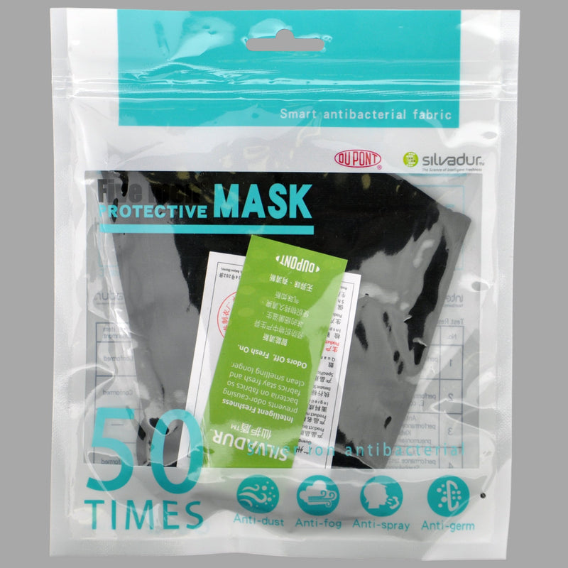Anti-Microbial Reusable Face Mask - Silver Ion Coating