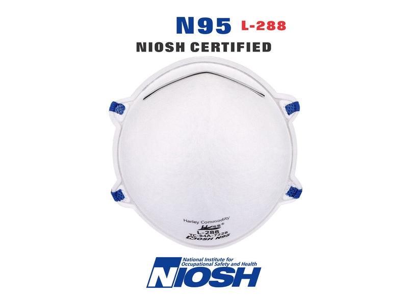 Harley N95 NIOSH - L-288 Cup Mask
