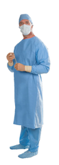 Disposable Impervious Nonsurgical Isolation Gowns - AAMI Level 4 - Knitted Cuffs