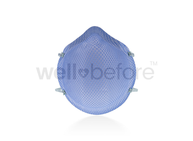 Moldex 1517 N95 Respirator Surgical Mask - FDA Cleared NIOSH Approved
