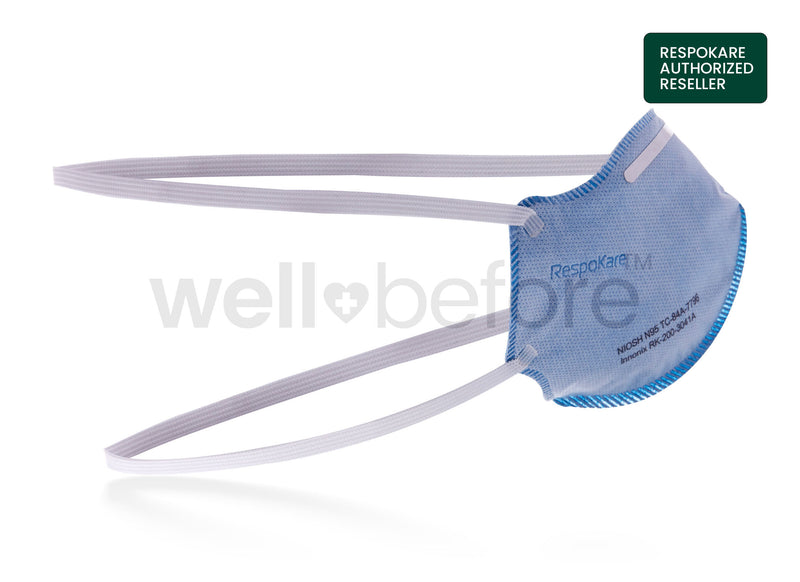 RespoKare N95 Surgical Respirator Mask - FDA Cleared NIOSH Approved