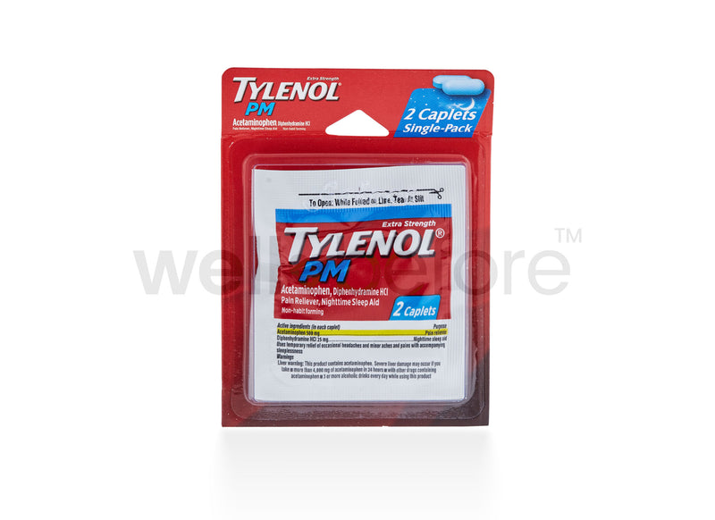 Tylenol PM, Extra Strength - Single Pack Blister