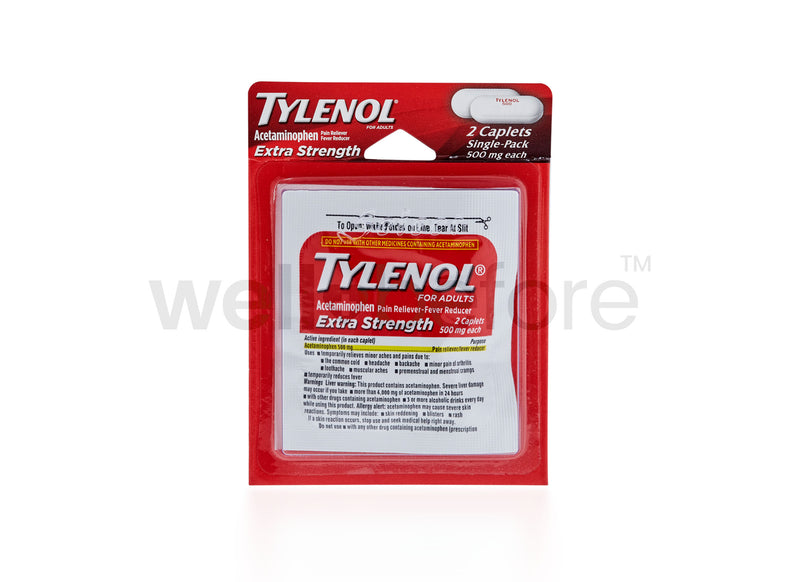 Tylenol Extra Strength - Acetaminophen 500mg - 2 Caplets