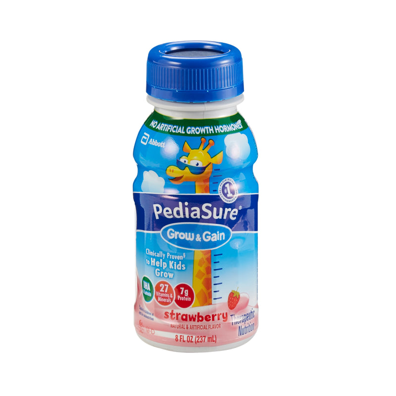PediaSure® Grow & Gain Strawberry Pediatric Oral Supplement, 8 oz. Bottle