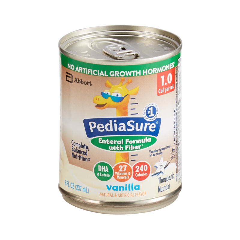 PediaSure® Enteral with Fiber Pediatric Oral Supplement / Tube Feeding Formula, 8 oz. Can