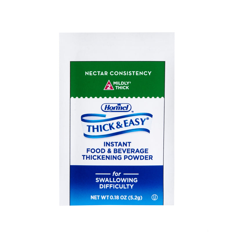 Thick & Easy® Nectar Consistency, Food and Beverage Thickener, 0.18 oz. Packet