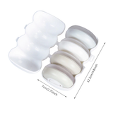 Portable Push-and-go Shampoo Dispenser (4 Pieces Set)