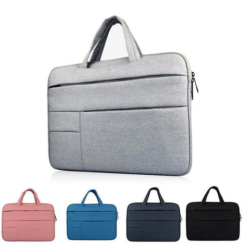 16 inch Briefcase Style Laptop Bag with Multiple Compartments